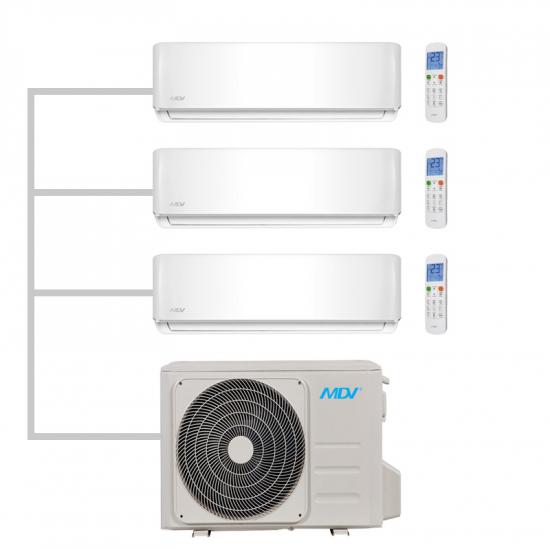 Мульти сплит система MDV MD3O-21HFN1 на три комнаты
